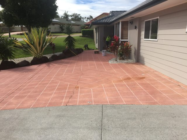 Gold Coast Pressure Cleaning - Before